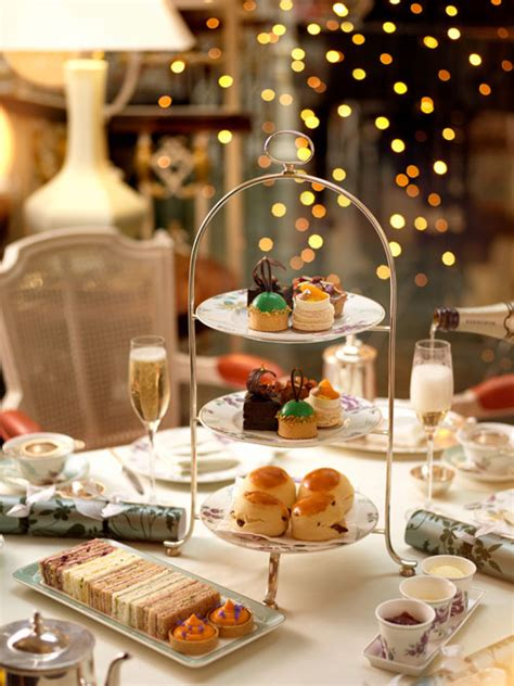 The best Christmas-themed afternoon teas in London