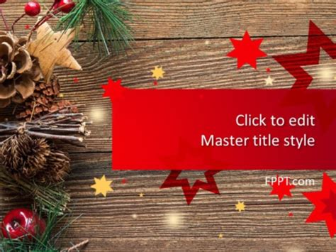 Free Decoration PowerPoint Template - Free PowerPoint