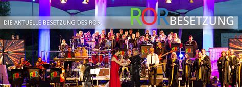 Besetzung - ROR live - Rock Orchester Ruhrgebeat