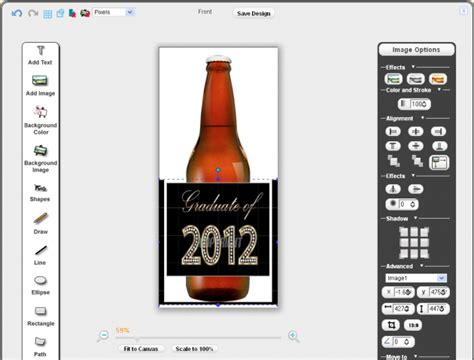 Beer Label Template Word   printable label templates