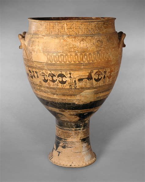 Terracotta krater | Attributed to the Hirschfeld Workshop