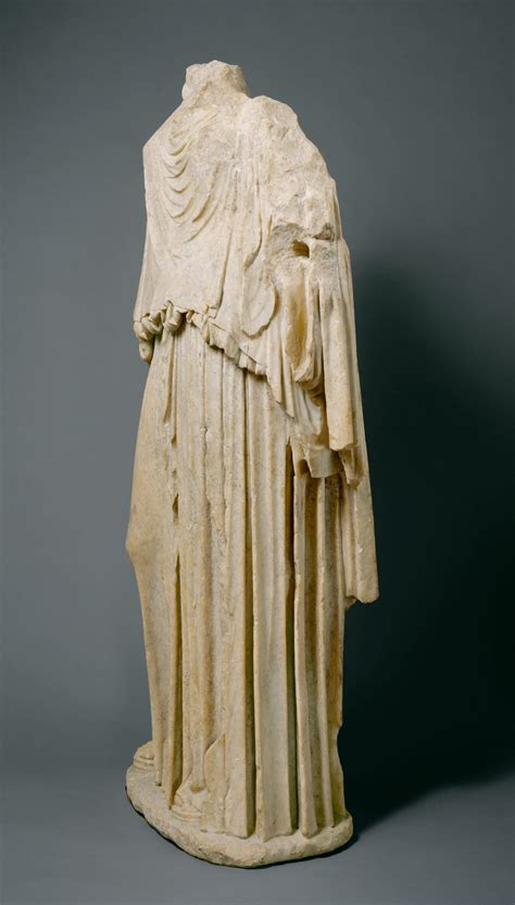 Marble statue of Eirene (the personification of peace