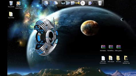 Windows 7 Theme-How To Install Animated 3D Icons For
