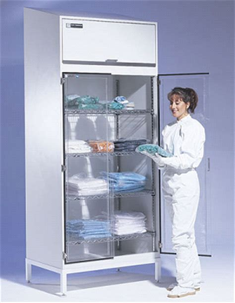 Cleanroom Storage Cabinet (304 Stainless Steel Or Powder