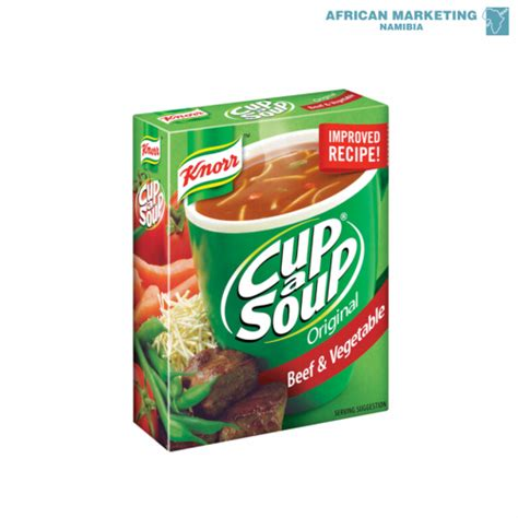 CUP-A-SOUP BEEF & VEG *KNORR AFRICAN MARKETING (PTY) LTD