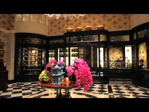 Afternoon Tea at The Savoy Hotel in the Thames Foyer