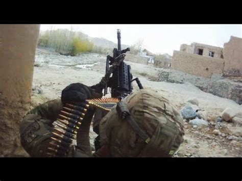 MK-48 and M203's Fired at Taliban During Firefight - YouTube
