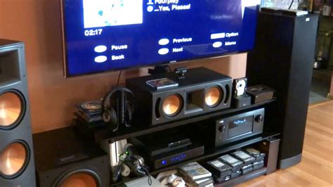 Denon AVR-4520ci Receiver with Klipsch RF-82 II Reference