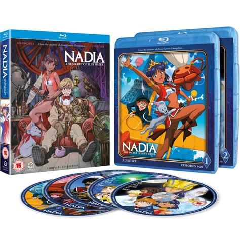 Nadia: Secret Of The Blue Water - Complete Series