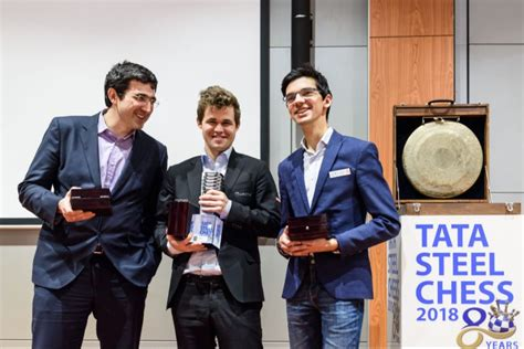 Tata Steel Masters: Magnus Carlsen finishes first; Anand