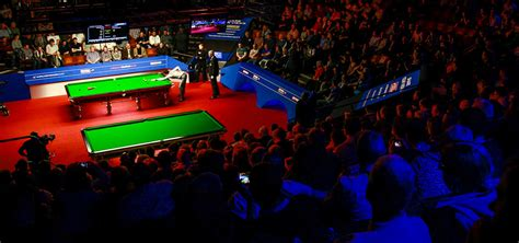 2019 Crucible Tickets Close To Sell Out - World Snooker